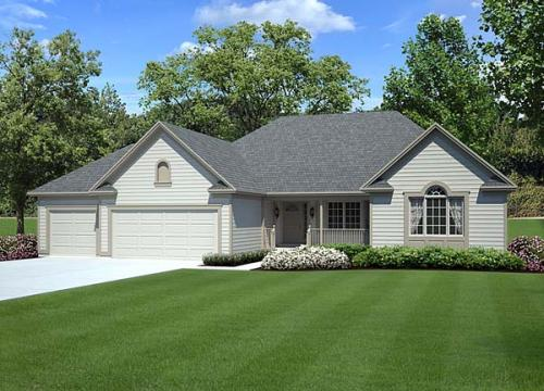 Traditional Style Home Design Plan: 46-249