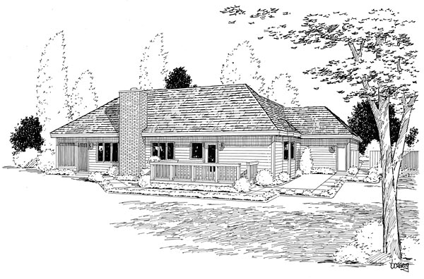 Rear Elevation Plan: 46-249