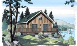 Mountain-or-Rustic Style House Plans Plan: 46-251