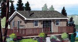 Mountain-or-Rustic Style House Plans Plan: 46-252