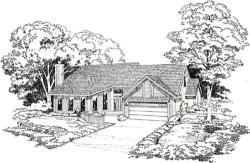 Traditional Style House Plans Plan: 46-255