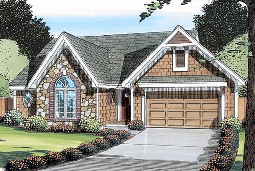 Traditional Style House Plans Plan: 46-264
