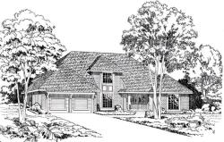 Traditional Style Floor Plans Plan: 46-275