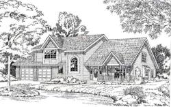 Country Style House Plans Plan: 46-287