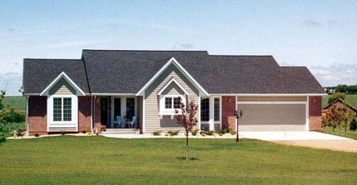 Traditional Style Home Design Plan: 46-289