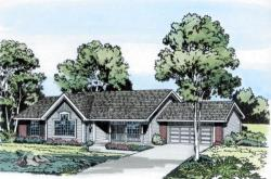 Traditional Style Home Design Plan: 46-290