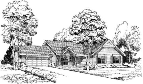 Country Style House Plans Plan: 46-294