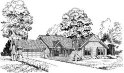 Country Style Floor Plans Plan: 46-294