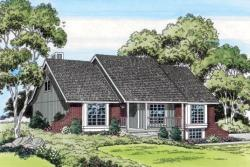 Country Style Floor Plans Plan: 46-297