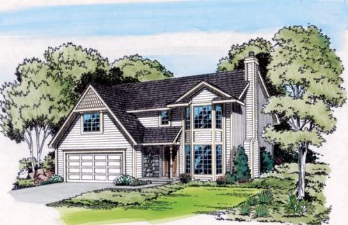 Traditional Style House Plans Plan: 46-298