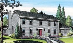 Colonial Style Floor Plans Plan: 46-301