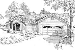 Traditional Style House Plans Plan: 46-306
