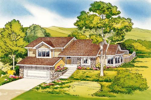 Traditional Style House Plans Plan: 46-307