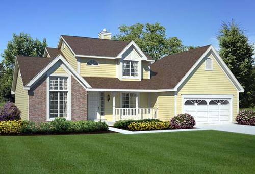 Traditional Style House Plans Plan: 46-315