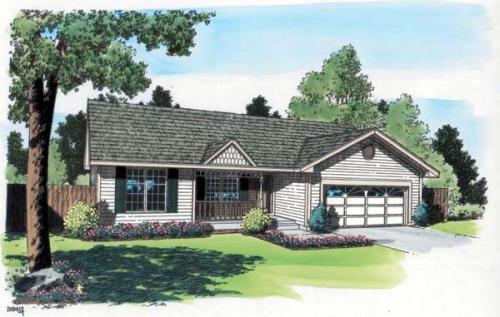 Traditional Style Floor Plans 46-316