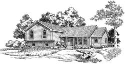 Traditional Style Home Design Plan: 46-322