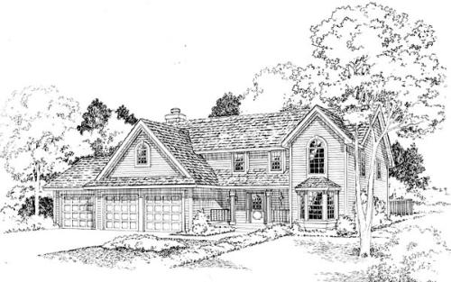 Traditional Style House Plans Plan: 46-336