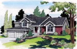 Traditional Style Floor Plans Plan: 46-343