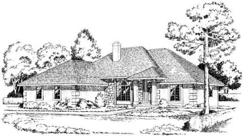 Traditional Style House Plans Plan: 46-346