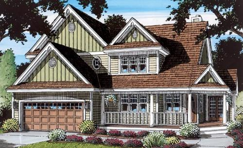 Traditional Style Floor Plans Plan: 46-356