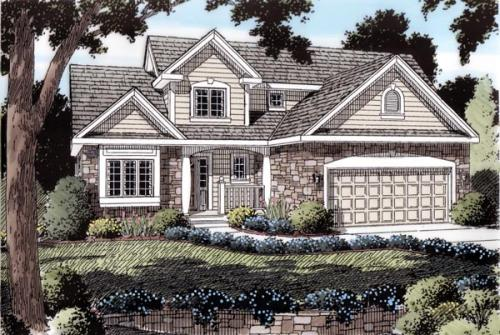 Traditional Style Floor Plans Plan: 46-357