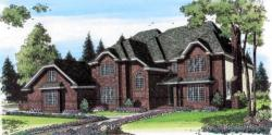 European Style House Plans Plan: 46-373