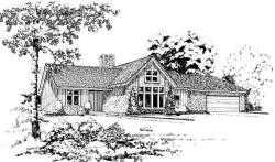 Contemporary Style Floor Plans Plan: 46-378