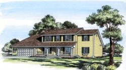 Traditional Style Home Design Plan: 46-380
