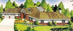 Traditional Style Floor Plans Plan: 46-383