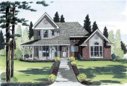 Country Style Floor Plans Plan: 46-386