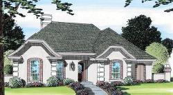 Mediterranean Style House Plans Plan: 46-391