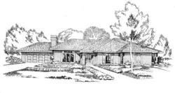 Traditional Style Home Design Plan: 46-393