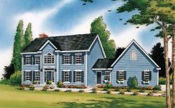 Colonial Style House Plans Plan: 46-400