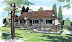 Traditional Style Floor Plans Plan: 46-402