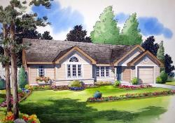Traditional Style Home Design Plan: 46-422