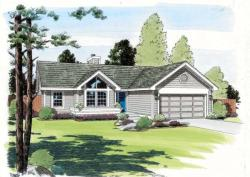 Traditional Style Home Design Plan: 46-424