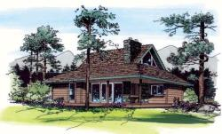 Contemporary Style House Plans Plan: 46-428