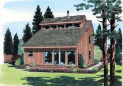 Contemporary Style House Plans Plan: 46-431