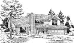 Traditional Style House Plans Plan: 46-433