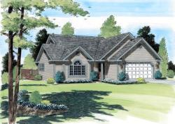 Traditional Style House Plans Plan: 46-444