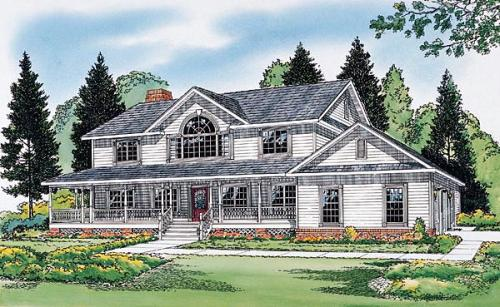 Traditional Style House Plans Plan: 46-445