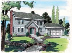 Colonial Style House Plans Plan: 46-452