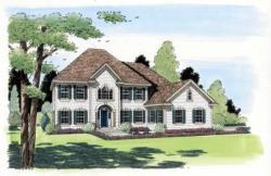 Southern-Colonial Style Floor Plans Plan: 46-456