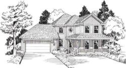 Country Style Floor Plans Plan: 46-481