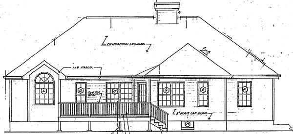 Rear Elevation Plan: 46-485
