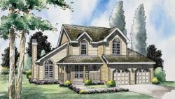 Traditional Style Floor Plans Plan: 46-488