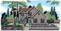 Traditional Style Home Design Plan: 46-492