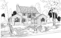 Traditional Style Floor Plans Plan: 46-494