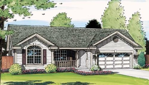 Traditional Style House Plans Plan: 46-498