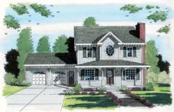 Southern Style House Plans Plan: 46-505
